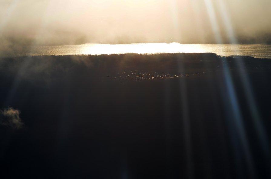 Закат с высоты птичьего полета - Alexander Zzz...