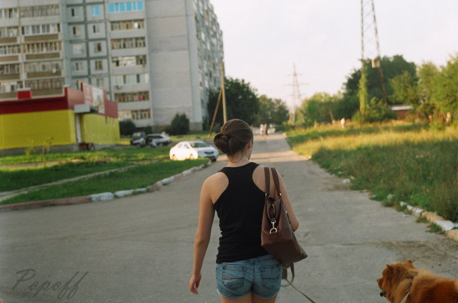 Девушка загадка... - Sergey Popoff