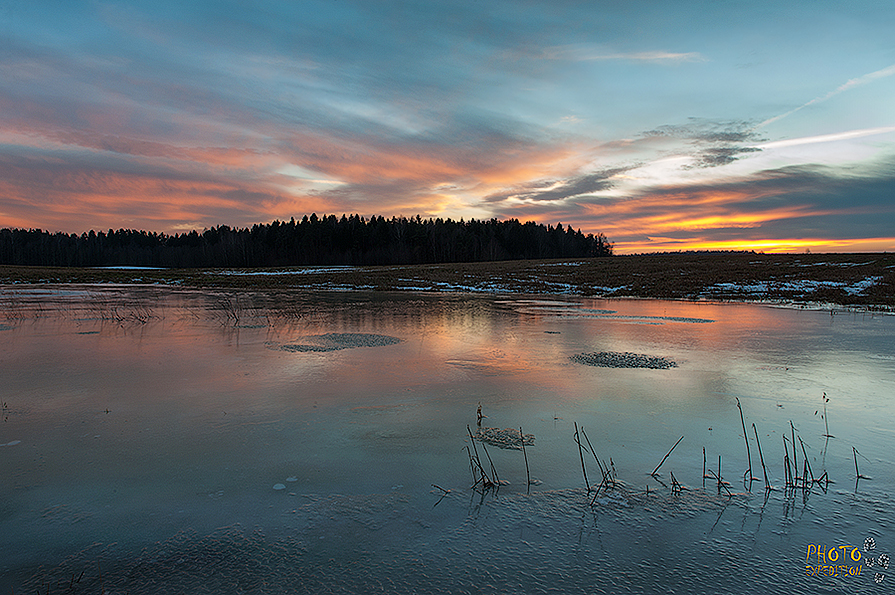 Ледяной закат - Eugene Remizov