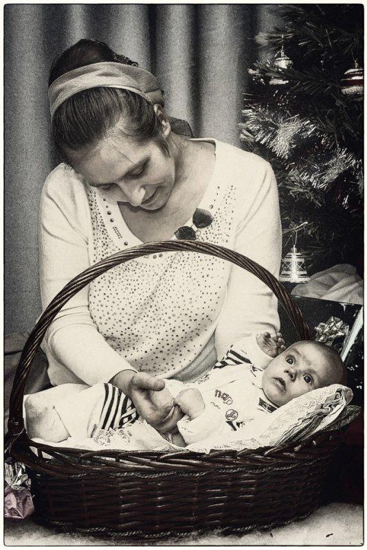Яник с мамой - Натали Никулина