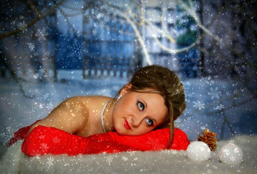 В зиммнем лесу - Татьяна Алексеевна