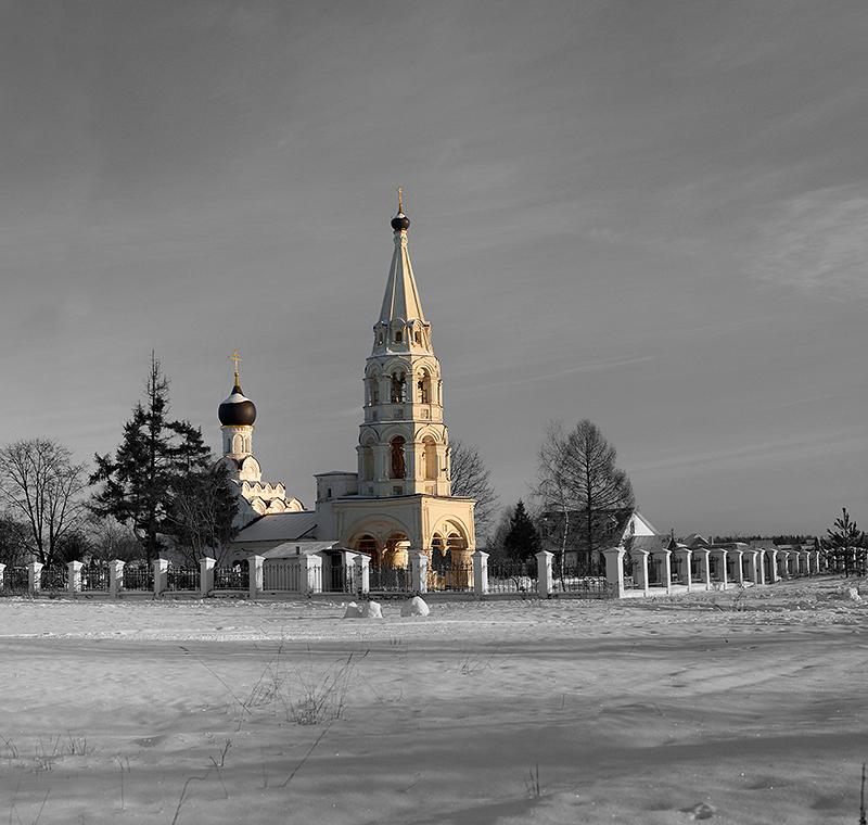 Церковь в селе Поярково МО - Алексей Видов
