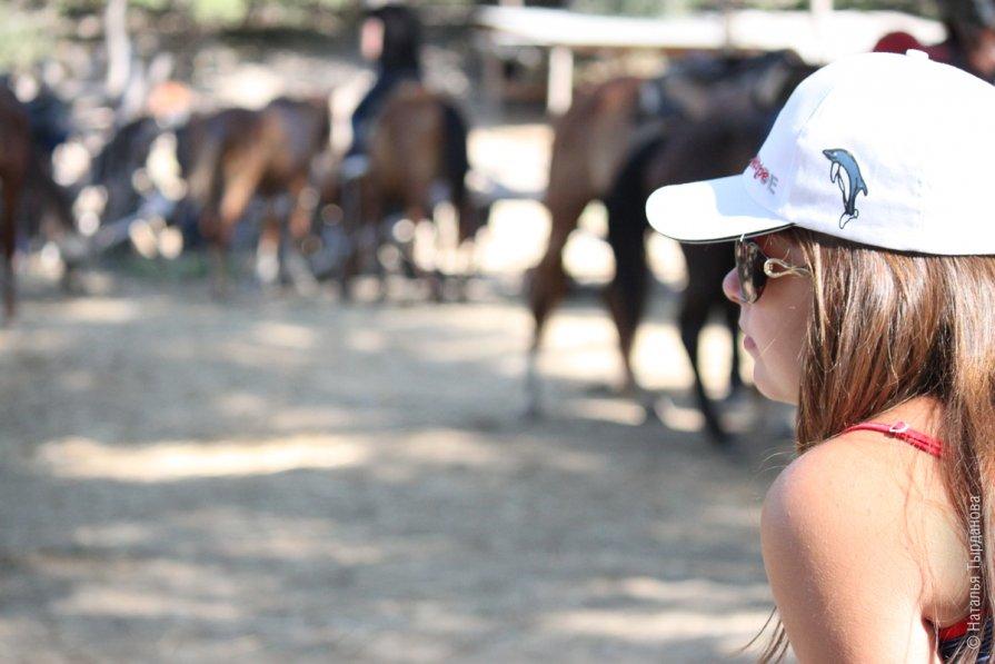 Перед конной прогулкой - Наталья Тырданова