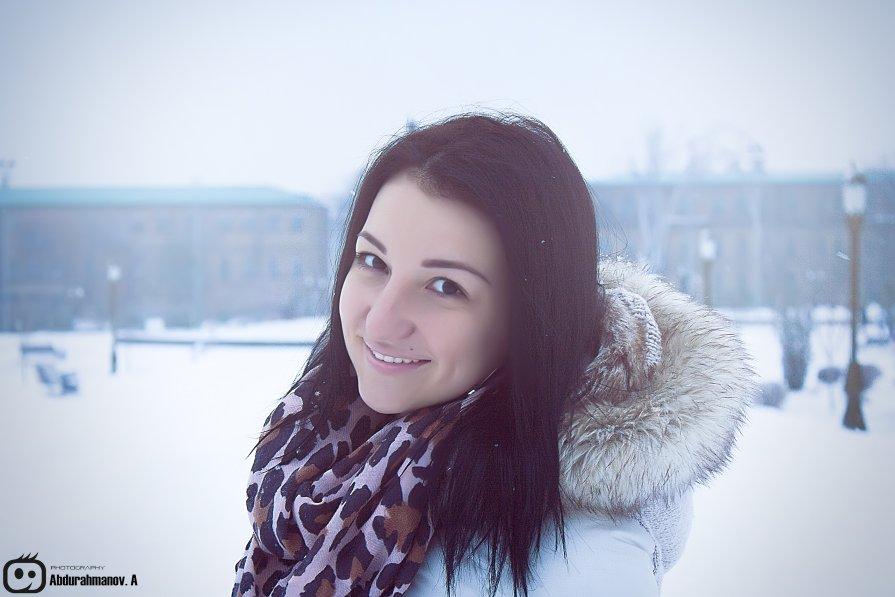 Зимняя прогулка с любимой подругой - Артур Абдурахманов