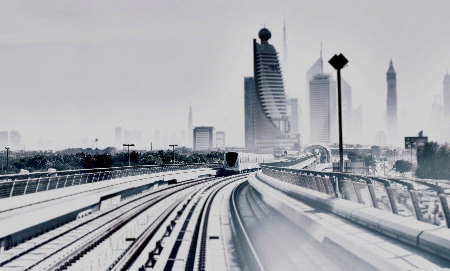 Дубаи - Marinka ...