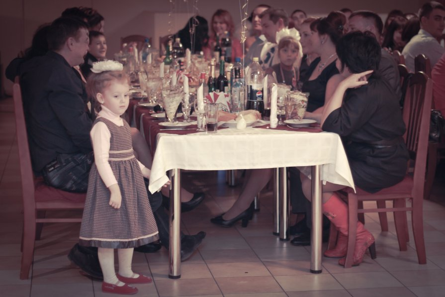 дети на свадьбе - Vinsent ...