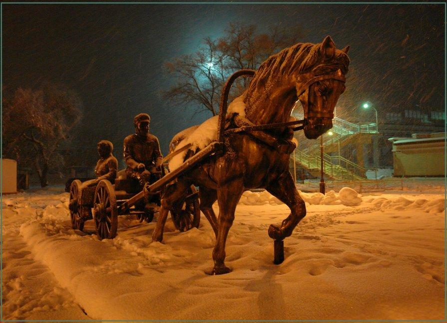 Памятник первостроителям г. Биробиджана. - Валентин Репин