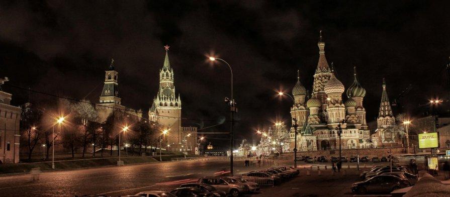 Ночной Кремль - Андрей Кравец