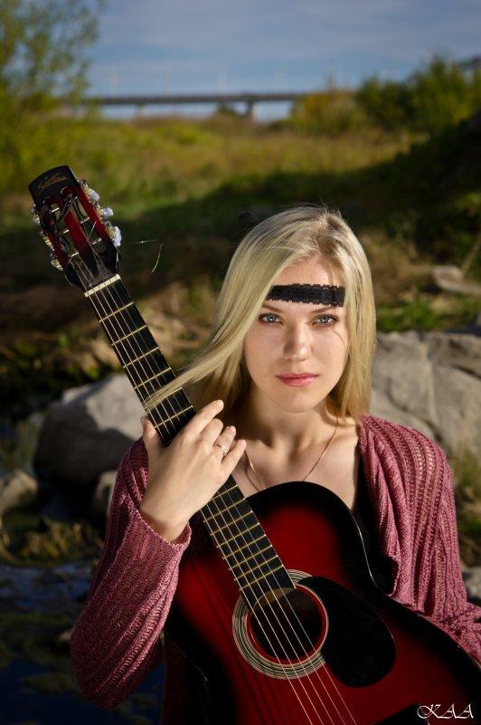 Девушка с гитарой - Alexey Kr