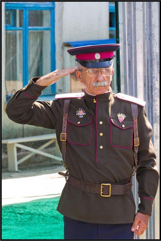 В память о терских казаках корпуса генерала Доватора - Alexandr Semeniakin