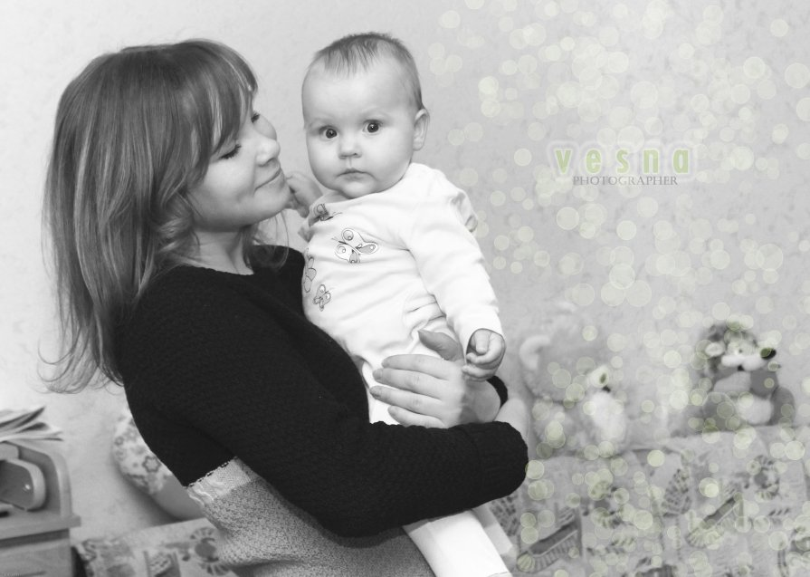 С доченькой подружки: Автор и модель) - Таня Харитонова