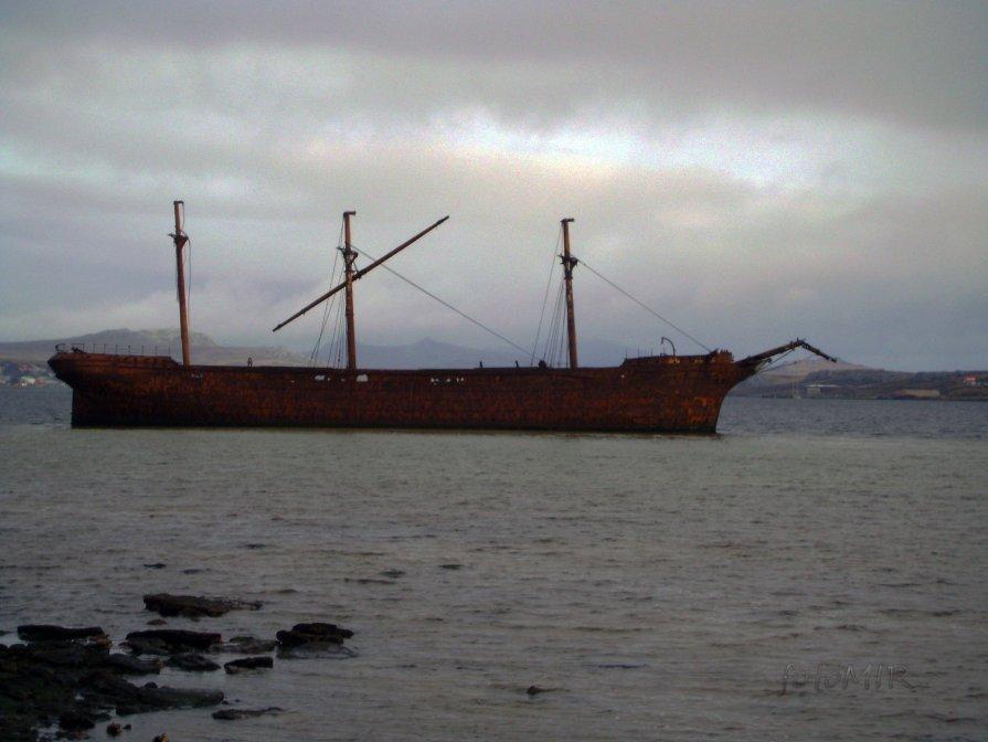 старое судно - inna mac
