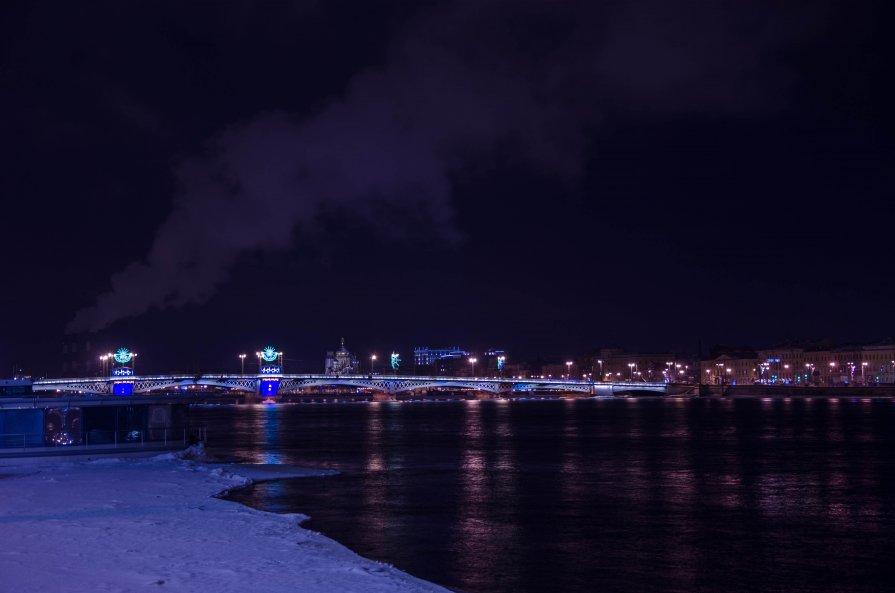 Благовещенский мост - Пётр Леонтьев