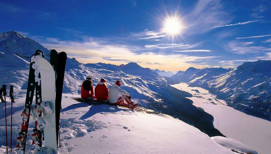 Лыжники - Den Mihailow