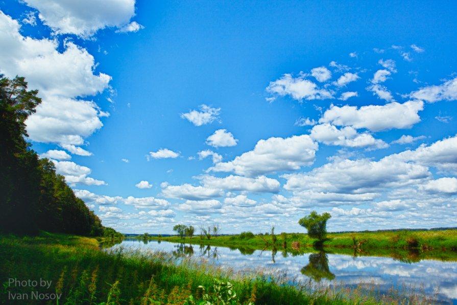 Летний пейзаж - Иван Носов