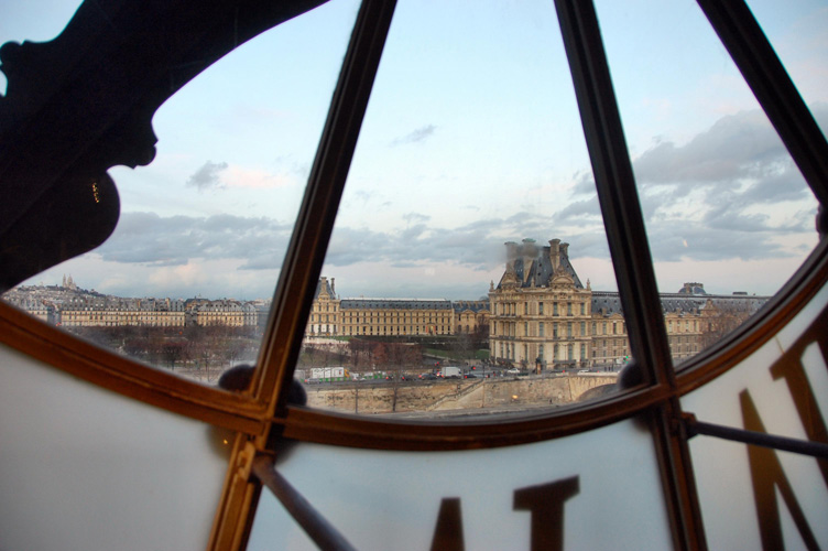 Из окна музея Орсе - Марина Витушкина