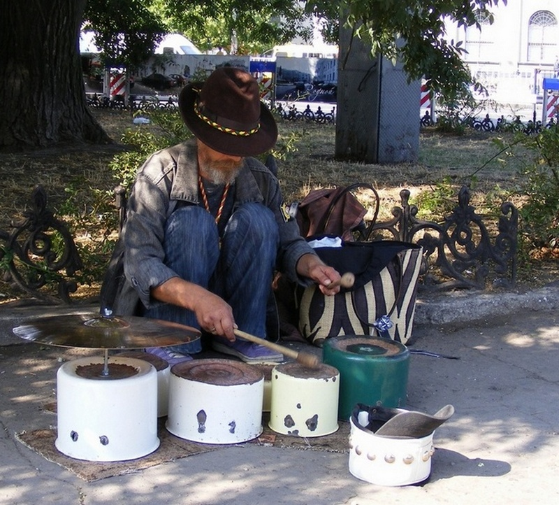 Кастрюльнай барабанщик - Александр Скамо
