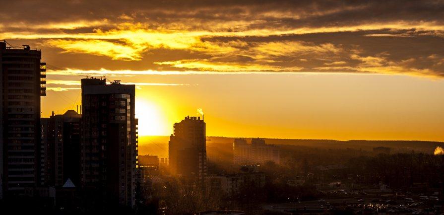 утро....кофе....рассвет.... - Алексей Кепычъ