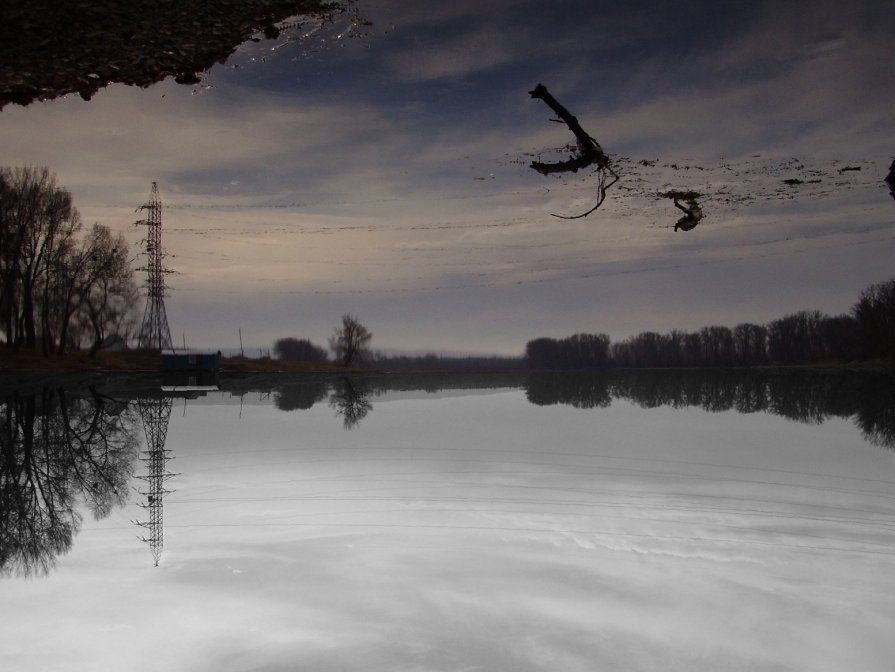 Минусинская протока. - Дмитрий Петров