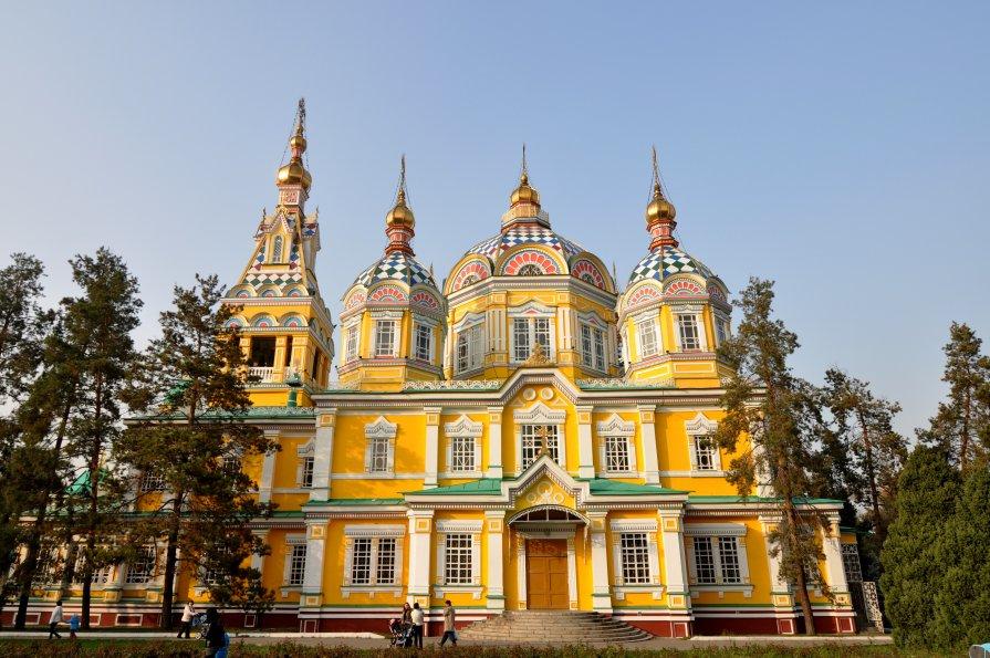 Вознесенский Собор , Алма -Ата - человечик prikolist
