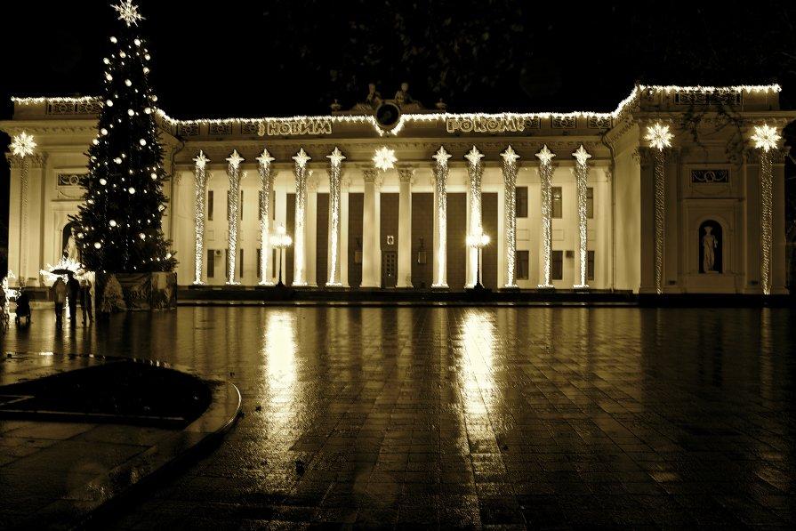 Одесса. Думская площадь - Виталий Балан