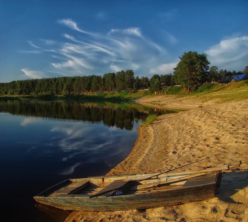 Лодка - Альберт Беляев