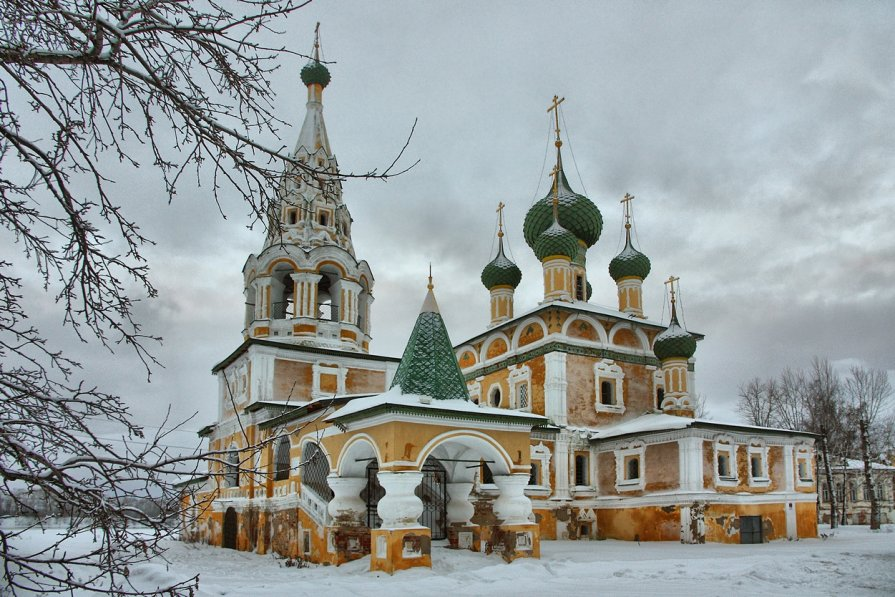 Церкви Углича - 1 - Pavel Stolyar