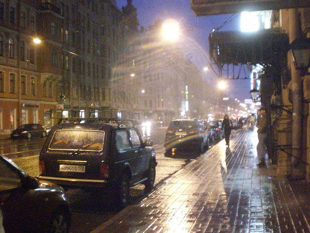 дождь вечером в Питере - Зоя Яковлева