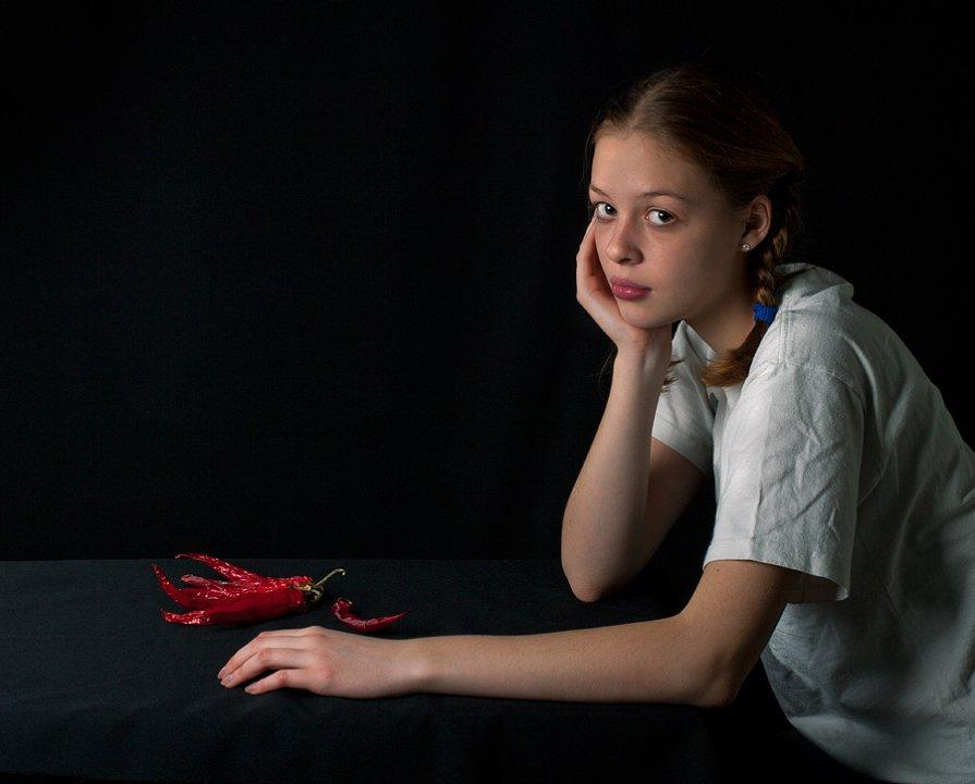 Девочка с перчиками - Александр Сергеев
