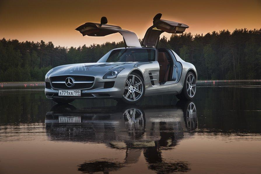 Mercedes SLS - Константин Кокошкин