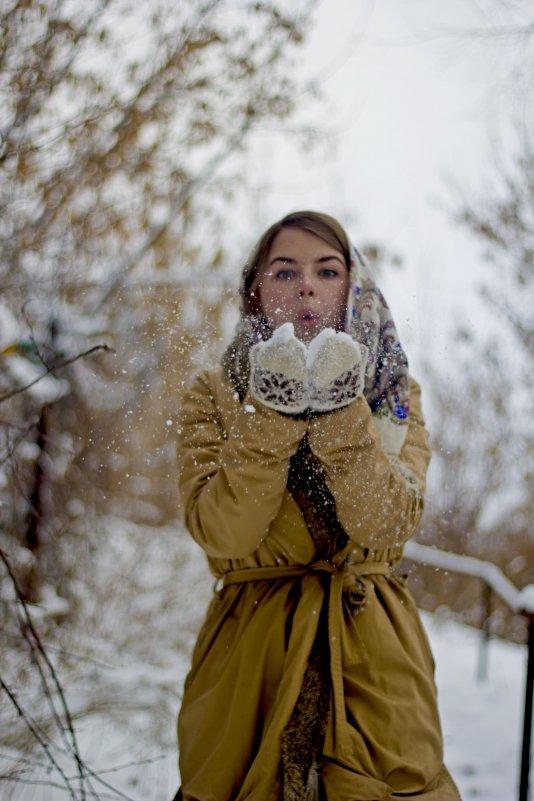 снег - Юлия Трибунская