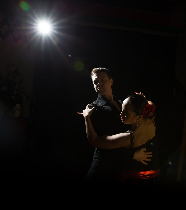 танцевальная пара - Инна па