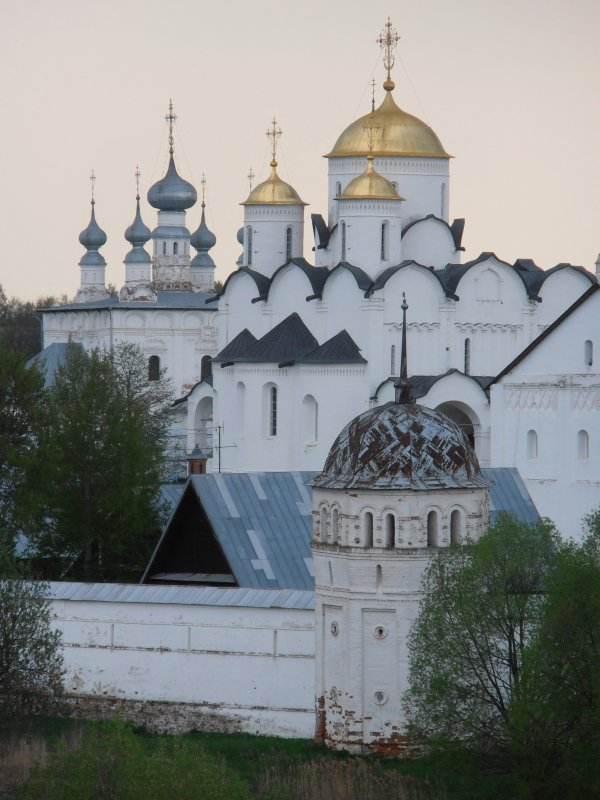 Один из храмов в городе Суздаль - Анна Румянцева