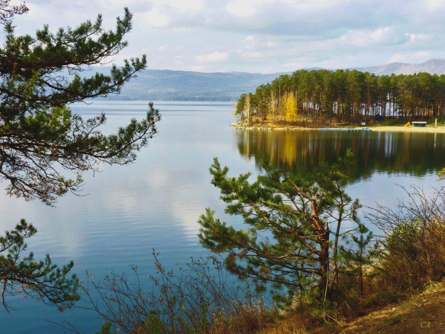 На озере Тургояк - Александр Садовский