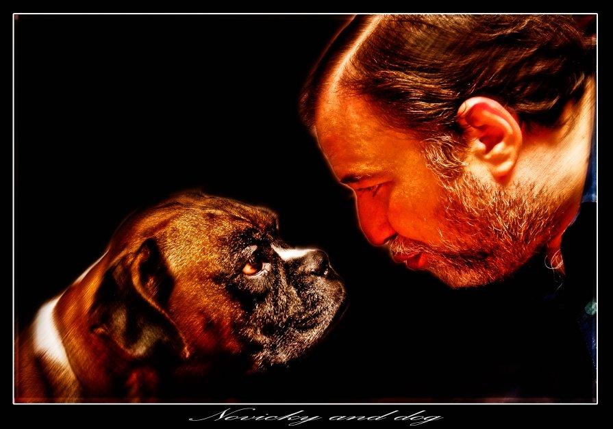 Novockiy and dog - Евгений Мокин