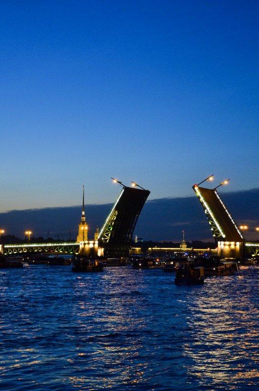 разводной мост - Пётр Леонтьев