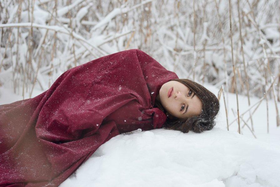 на снегу - Карина Клочкова