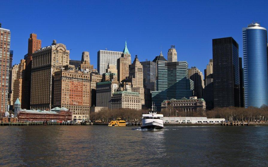 New York City - человечик prikolist