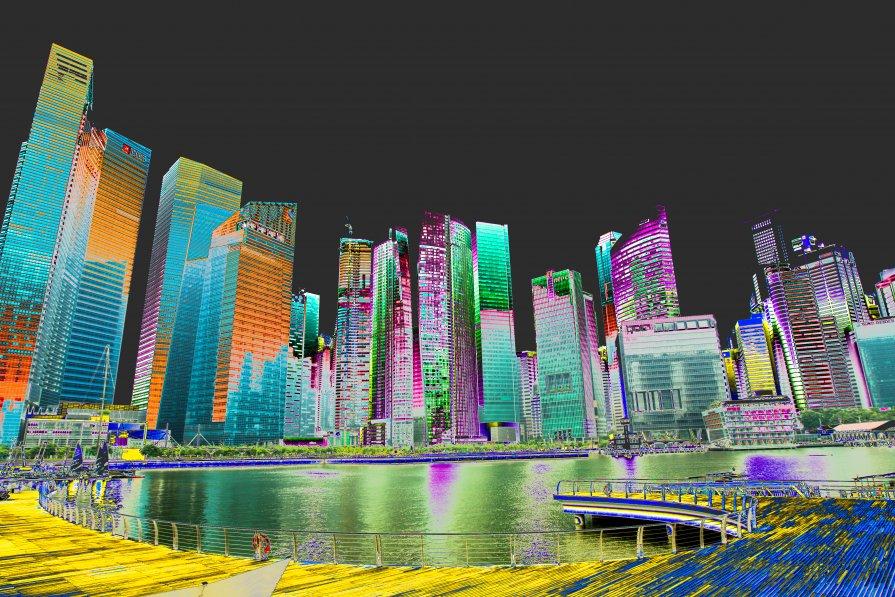 Сингапур - человечик prikolist