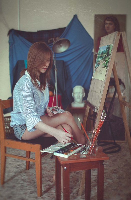 Художница - Валерий Худушин