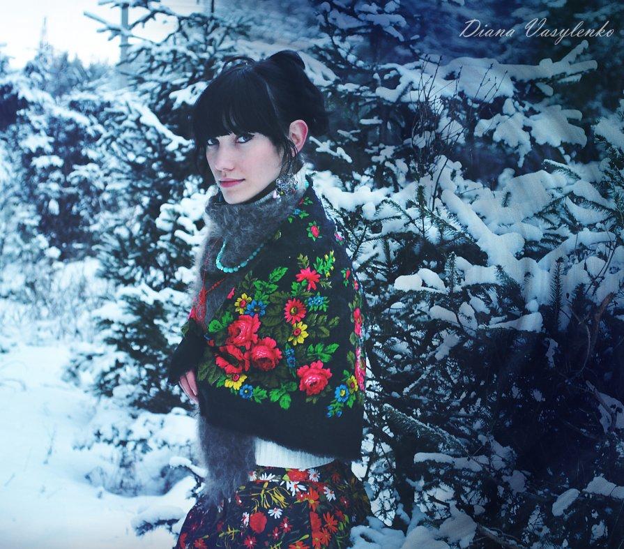 Зима - Диана Василенко