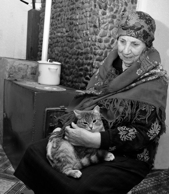 Бабушка у печки - Сергей Берг