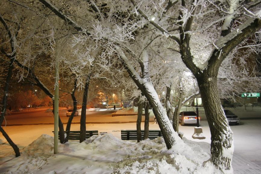 Зимний  вечер - Геннадий Тарасков