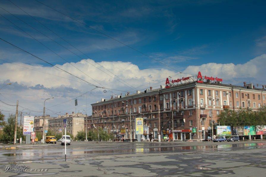 г.Орск.Площадь Комсомольская - Таня Харитонова