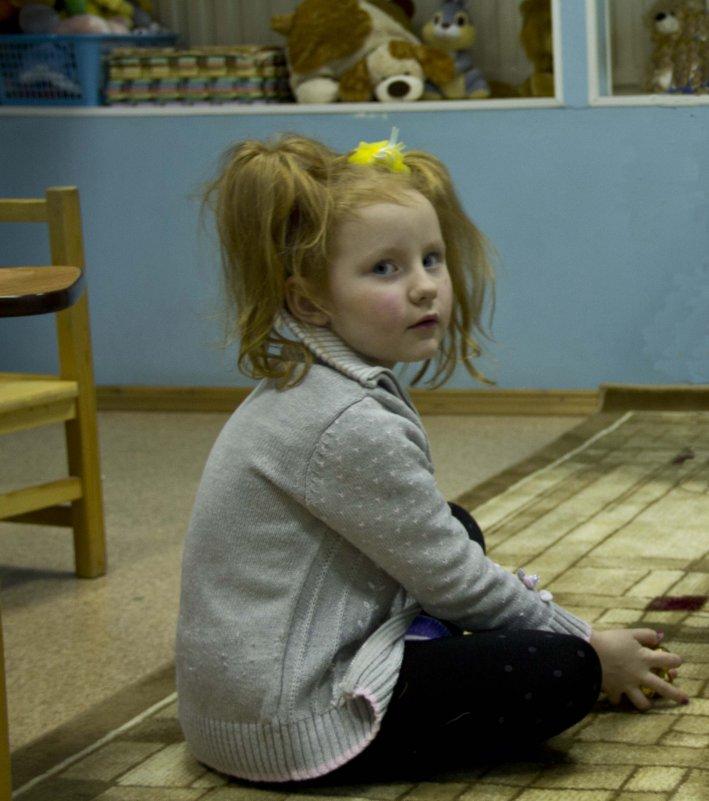 Девочка с хвостиками - Камозина Валерия