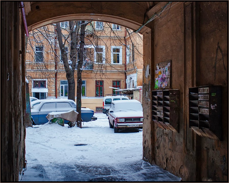 Без претензий к зиме:) - Алексей Спидчук
