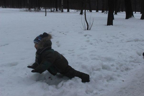 Ура!Снег! - Аня Алексеева