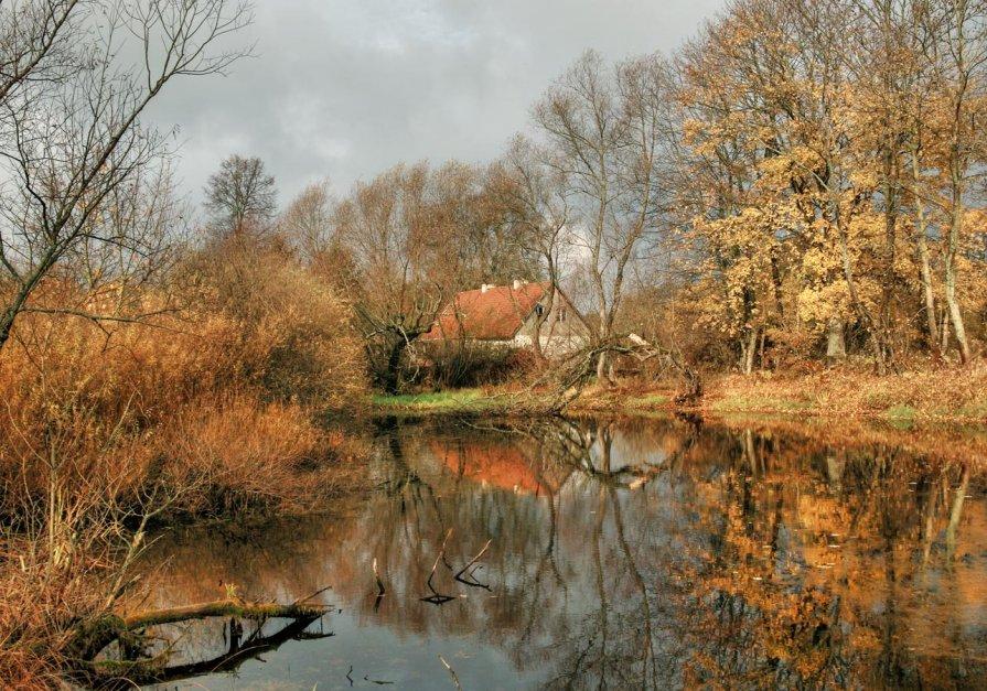 Осенний пейзаж - Павел Дунюшкин