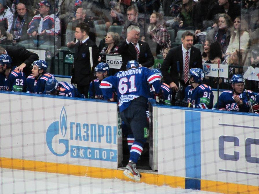 СКА-Локомотив 4:0. Афиногенов - Алексей Кудрявцев