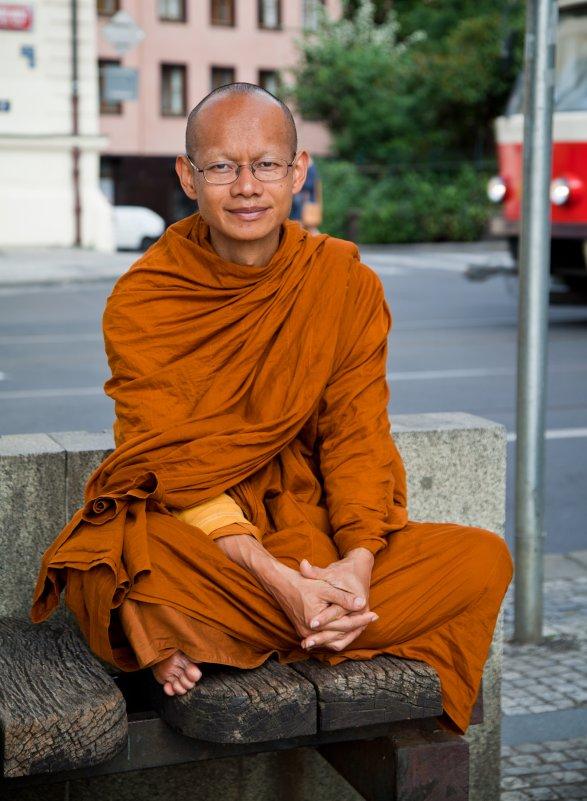 Буддийский монах - Максим Логунов